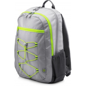 "HP 1LU23AA 39.62 cm (15.6"") Active Backpack (Grey/Neon Yellow)"