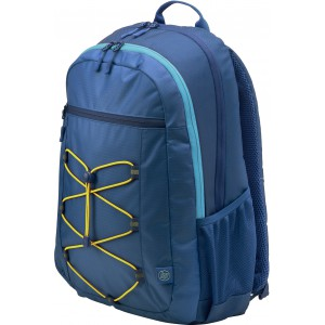 "HP 1LU24AA 39.62 cm (15.6"") Active Backpack (Navy Blue/Yellow)"