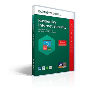 Kaspersky Internet Security Multi Device 2018 2 User 1 Year DVD Eng