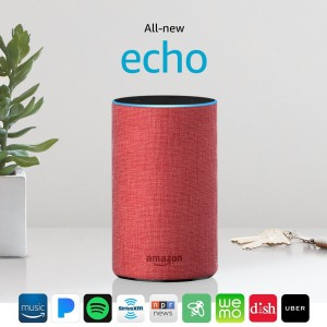 AMAZON All-new Echo 2nd Generation - Red