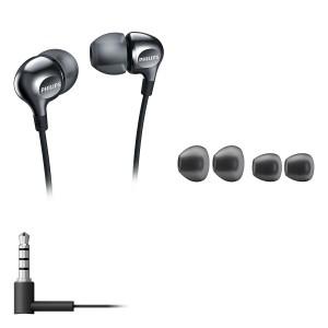 PHILIPS SHE3700 VIBE IN-EAR HeadPhone - BLACK