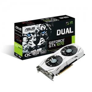 Asus gtx1070 White+Dual fan-Oc Video Card