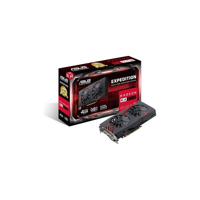Asus EX-RX570-O4G//RX570/Graphics Card
