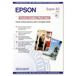 EPSON - PREMI SEMIGLOSS PHOTO PAPER A3