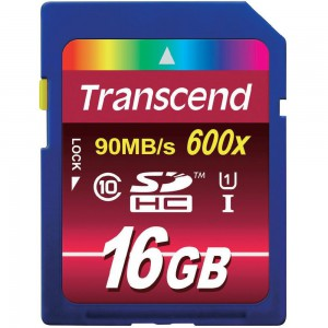 Transcend Ultra High Performance Secure Digital - 16GB