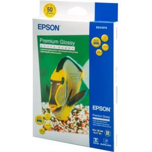 Epson Premium Glossy Photo Paper 13x18cm, C13S041875