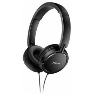 Philips Shl5000bk Headset - Mp3 - Ipod - Black (with Wire)