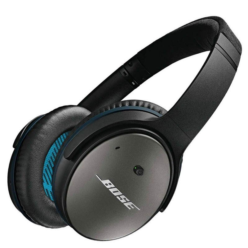 Bose QuietComfort 25 Headphones with Acoustic Noise Cancelling - Black