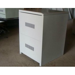 C4 Steel Battery Cabinet - Holds 4x 100Ah batteries (incl circuit breaker)