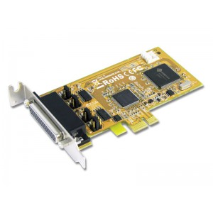Sunix 5437PHL 2-port RS-232 High Speed PCI Express Low Profile Serial Board