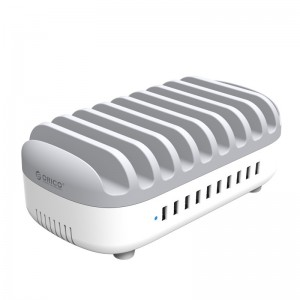 Orico DUK-10P-SA-WH Tablet/Smartphone USB Charging Station