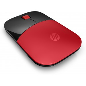 HP V0L82AA Wireless Mouse with Designed-For-Web Scrolling - Red