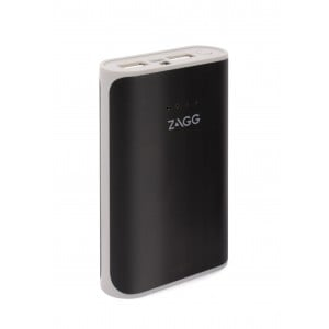 Zagg IFIGN6-BK0 Ignition Black 6000mAh Power Pack with Flash Light