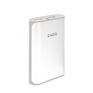 Zagg IFIGN6-WH0 Ignition White 6000mAh Power Pack with Flash Light