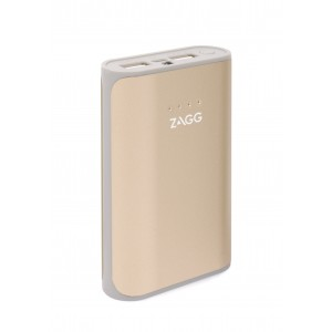 Zagg IFIGN6-GD0 Ignition Gold 6000 mAhPower Pack With Flash Light