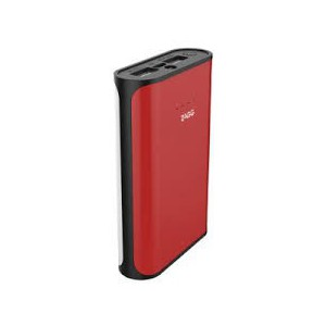 ZAGG IGNITION 6000 MAH POWER PACK WITH FLASH LIGHT - Red