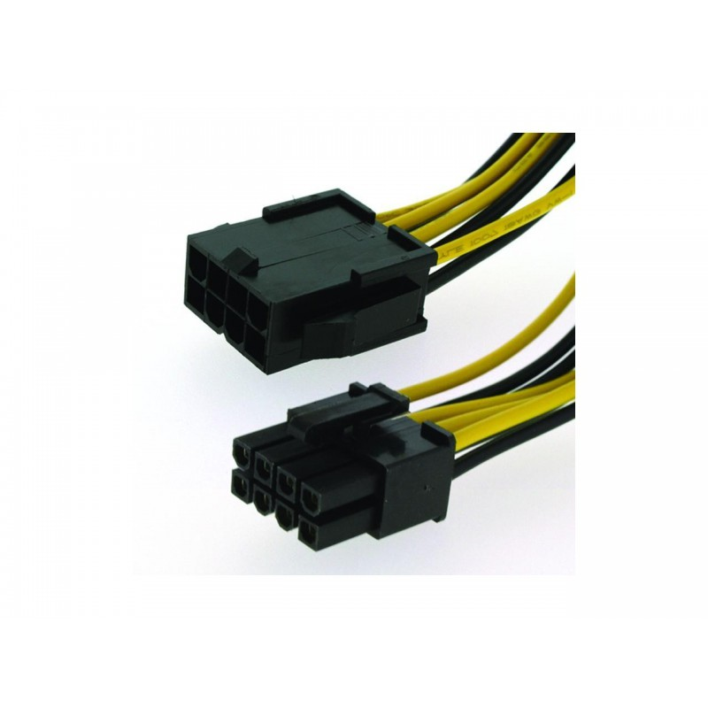Awesome 8 Pin Extension Cable Atx 12V Eps Male To Female Cpu Wiring Cloud Oideiuggs Outletorg