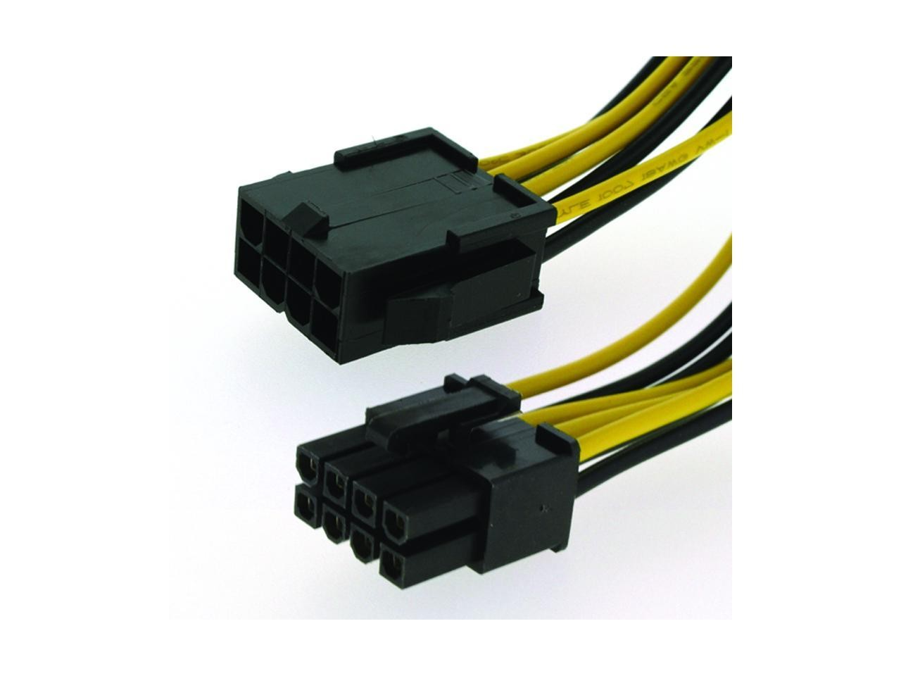 8 Pin Extension Cable Atx 12v Eps Male To Female Cpu Motherboard Antec Atx12v Power Supply Tester Psu Lead 16cm Geewiz