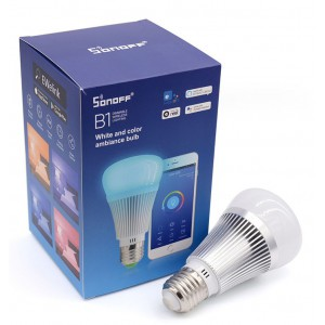 Sonoff B1 Dimmable E27 Smart LED RGB Color Light Bulb