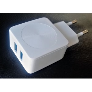 USB 2 Port Wall Charge - 2.1A