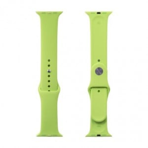 Apple Silicone Watch Strap 38mm-Light Green
