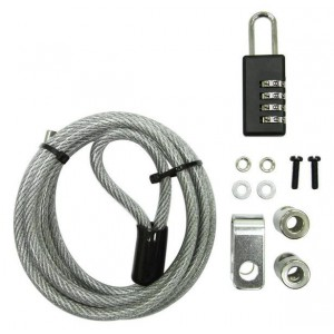 Mecer LKCP-1163 4 Dial PC Cable Lock