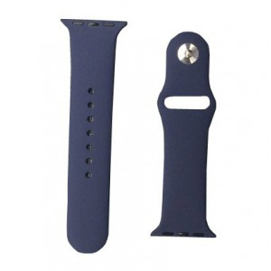 Apple Silicone Watch Strap 38mm-Navy Blue