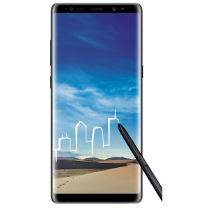 Samsung GALAXY NOTE 8 BLACK Galaxy Note 8 (Midnight Black)