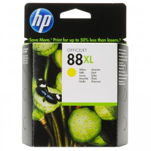 HP No. 88 Yellow Ink Large Cartridge