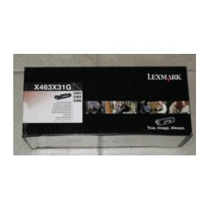 Lexmark X463X31G   Extra-High-Yield Black Toner Cartridge