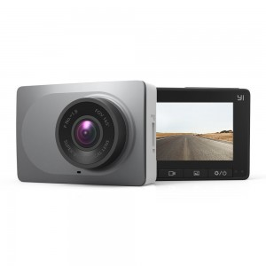YI YCS.1015.INT Space Grey Smart Dash 1080p 3MP 165 Micro SD Slot Camera