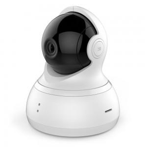 YI YHS.1916 White Smart Home Dome 720p 360 PTZ Micro SD Slot Dome Camera