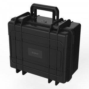 "Orico PSC-L8S22-BK 30-Bay External Hard Drive Case, Storage Box for 2.5"" and 3.5"" SSD/HDD, Protective Briefcase Design"