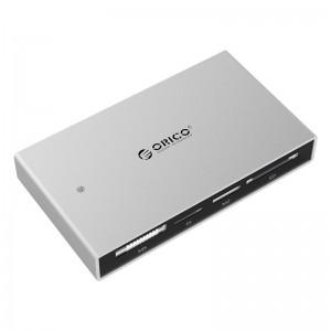 Orico 7566C3-SV FUll Aluminium All-in-1 Super Speed USB 3.0 Card Reader/Writer