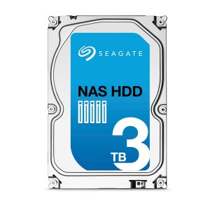 Seagate Enterprise NAS HDD 3TB - SATA 6GB/s with 128MB Cache @7200rpm