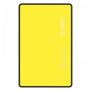 Orico 2588US3-V1-OR-PRO USB3.0 2.5 inch HDD and SSD External Enclosure Yellow