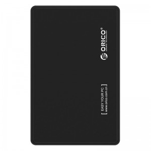 Orico 2588US3-V1-BK-PRO USB3.0 2.5 inch HDD and SSD External Enclosure