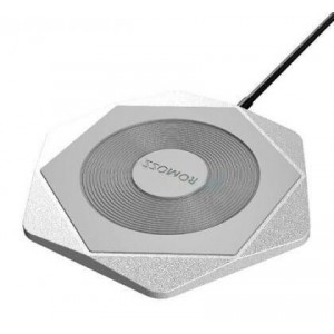 Romoss WF01-302-01 Hexa Silver Wireless Charging Pad