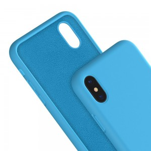 Romoss OML-SCAPIP8PB Mr. Lei Flexo Silicon 2mm Sky Blue IPhone X Soft Case