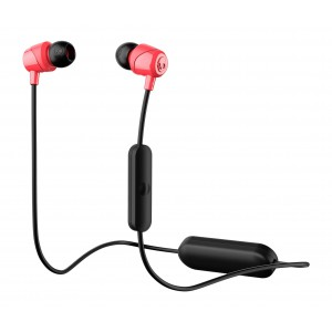 Skullcandy S2DUW-K010 Jib Wireless In-Ear Earphones with Mic (Red/black)