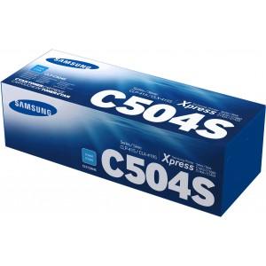 Samsung  SU027A CLT-C504S Cyan Toner Cartridge