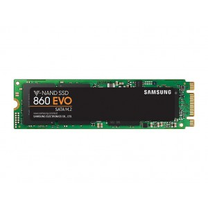 Samsung MZ-N6E250BW 860 Evo M.2 SATA 2280 Internal SSD Single Unit Version