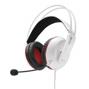 Asus CERBERUSARCTIC Gaming Headset Headphone (Cerberus Arctic White)
