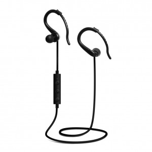 HP 03020046-TL Wireless In-Ear Sweatproof Bluetooth Headphones with Mic, Black