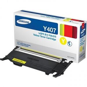 Samsung CLT-Y407S/SU476 Yellow Toner Cartridge