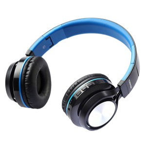 Toshiba RZE-BT200H Blue Foldable Wireless Headset