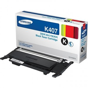 Samsung CLT-K407S/SU132 Black Toner Cartridge