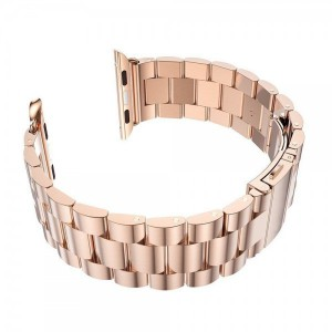 Apple Stainless Steel Watch Strap 38mm-Rose Gold