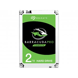 Seagate ST2000DM009 2TB BarraCuda Pro SATA 6Gb/s 128MB Cache 3.5-Inch Internal Hard Drive