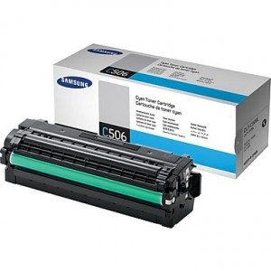 Samsung CLT-C506L/SU040 High Yield Cyan Toner Cartridge
